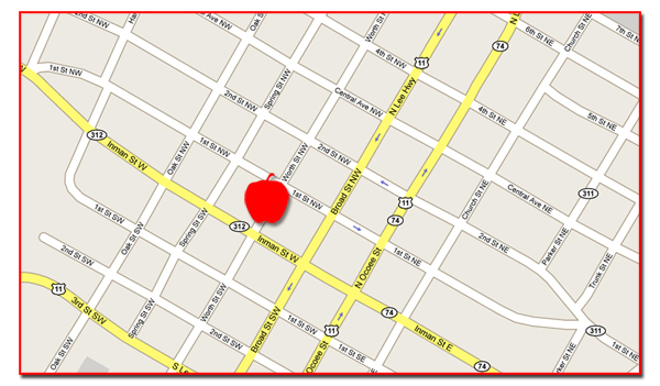 Cleveland Apple Festival map